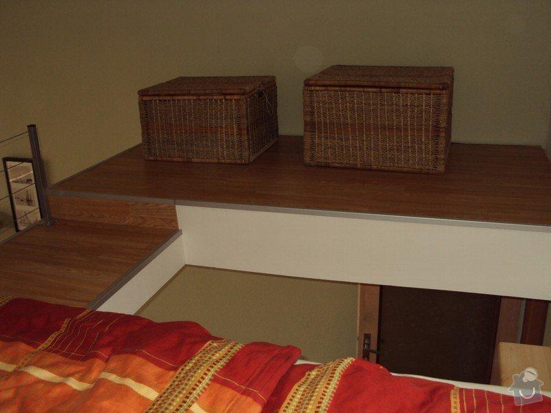 Patro na spaní, plovoucí podlahy.: a_086