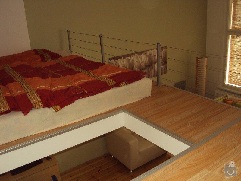 Patro na spaní, plovoucí podlahy.: a_088