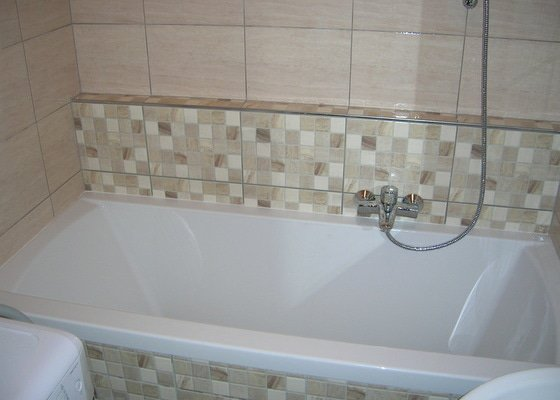 Rekonstrukce koupelny ,WC a kuchyně