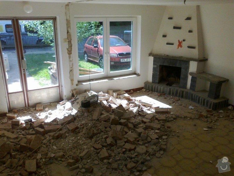 Rekonstrukce rodinného domu: Mobil_fotky_004