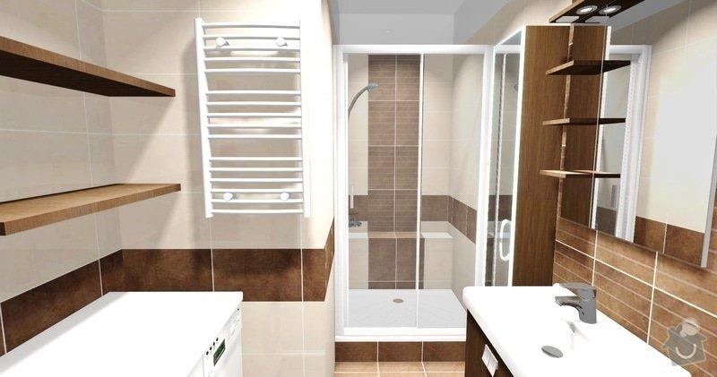Rekonstrukce bytového jádra v Brně-Kohoutovicích: pohled_3