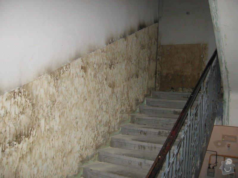 Výmalba a renovace zábradlí schodiště: 008
