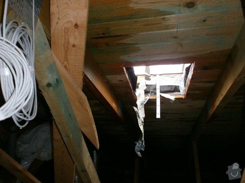 Oprava střechy bytového domu: P2240326