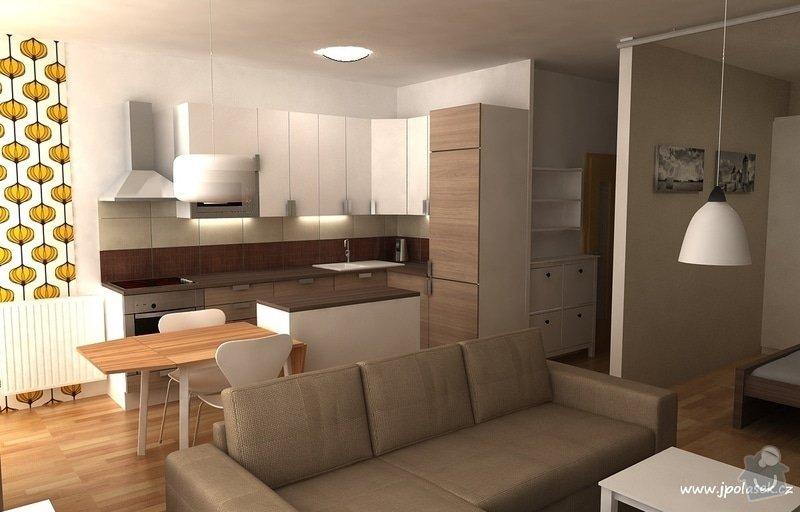 Návrh interiéru bytu 2+kk: BytO_K_01