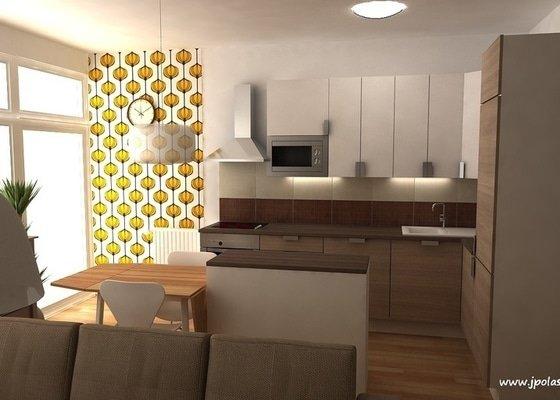 Návrh interiéru bytu 2+kk