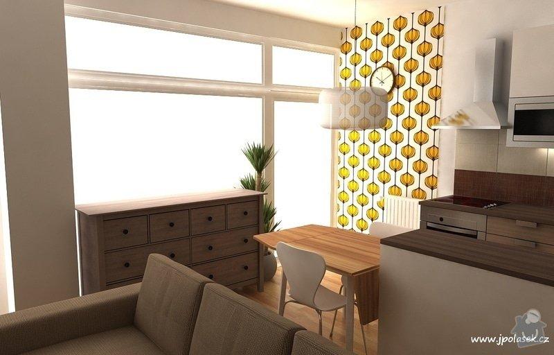 Návrh interiéru bytu 2+kk: BytO_K_03