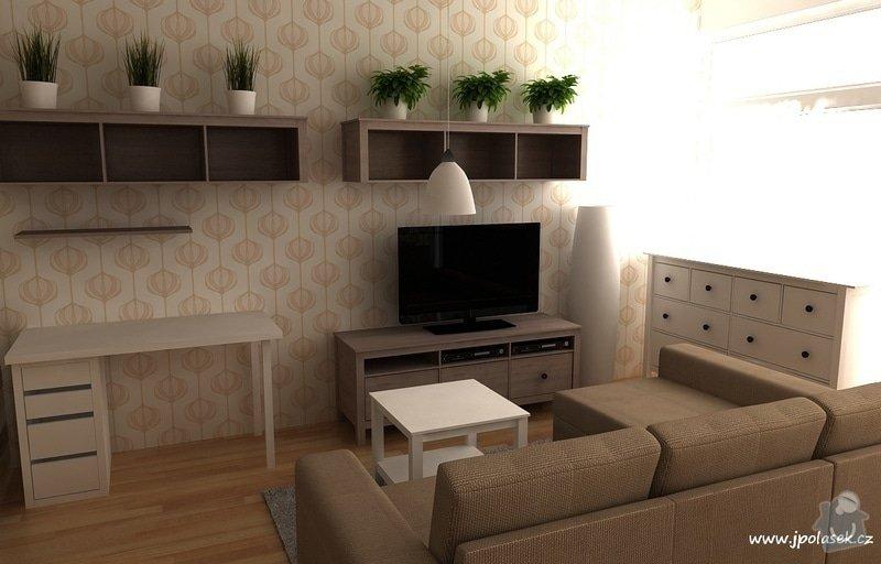 Návrh interiéru bytu 2+kk: BytO_K_05