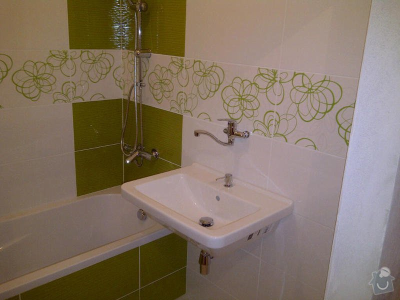 Rekonstrukce koupelny a wc: Zlin-20130209-01013