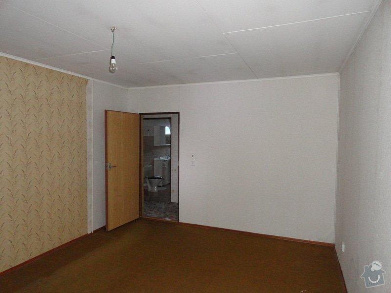 Posunutí zdi mezi 2 pokoji v okalu 117: DSC02267