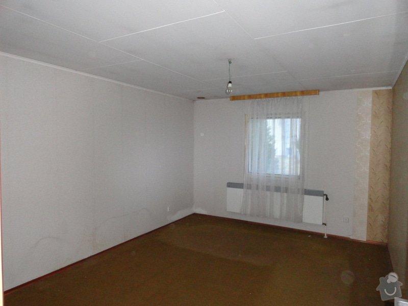 Posunutí zdi mezi 2 pokoji v okalu 117: DSC02266
