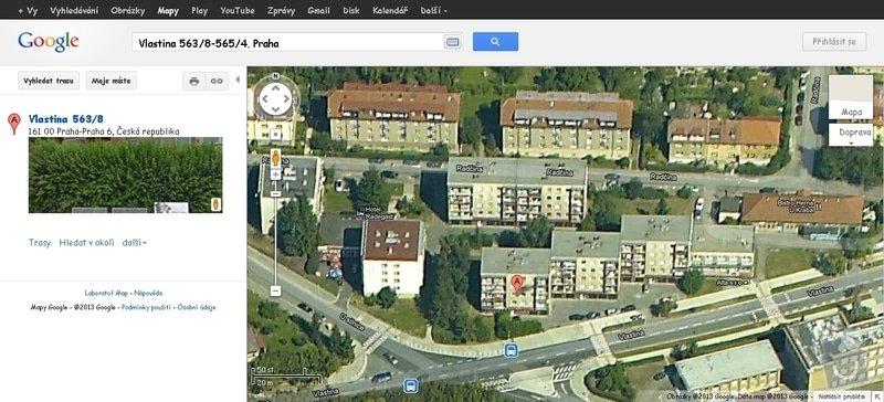 Zateplení panelového domu (131 byt. jednotek): Vlastina_563_8-565_4_Praha_-_Mapy_Google.htm_20130301133317