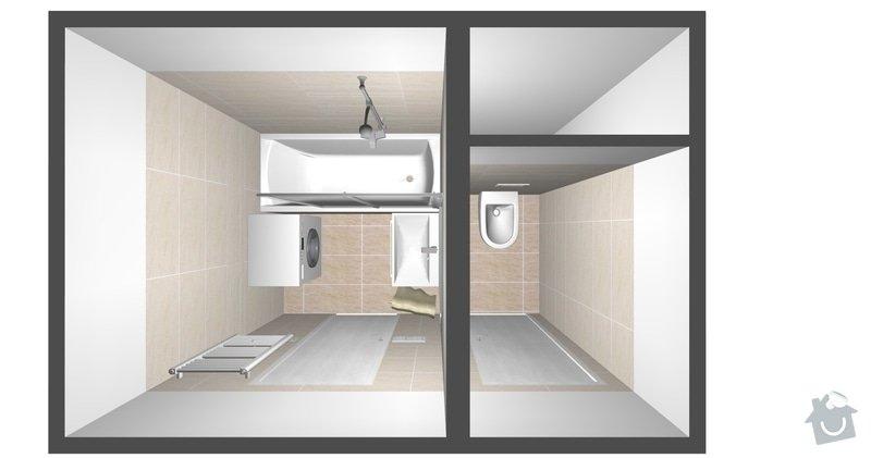 Rekonstrukce bytového jádra a kuchyně: pohled_1