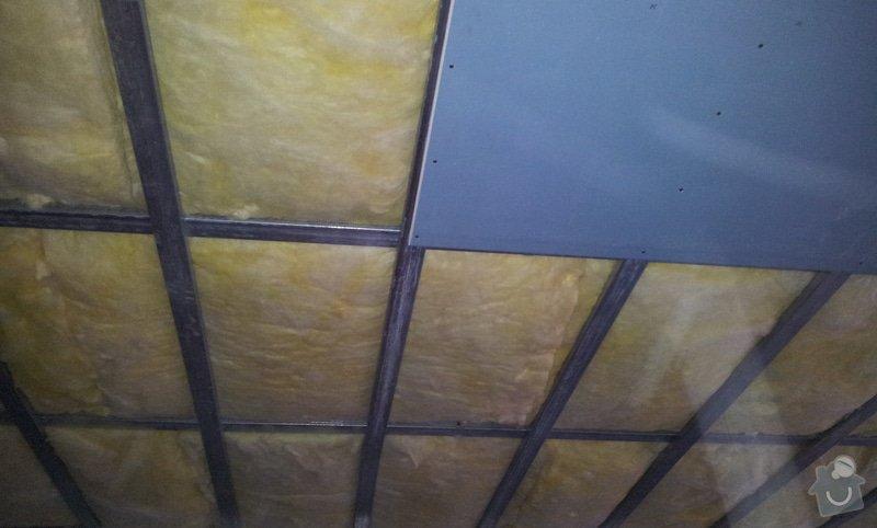 Odhlučnění stropu: 20130225_152102