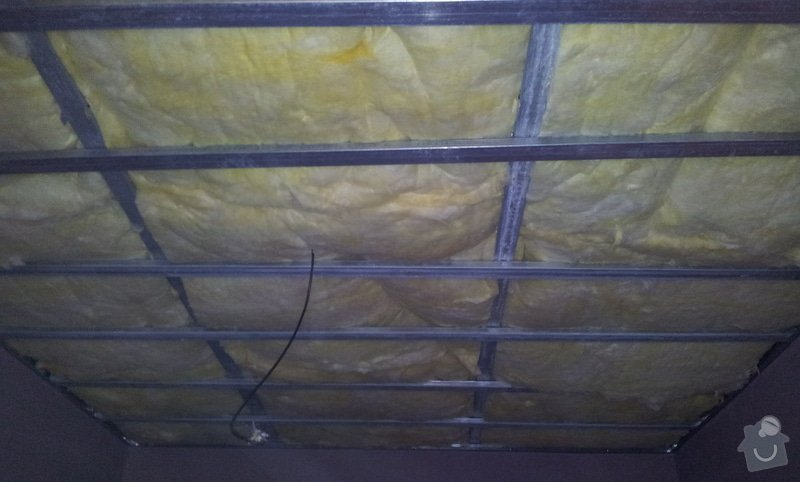 Odhlučnění stropu: 20130225_161000