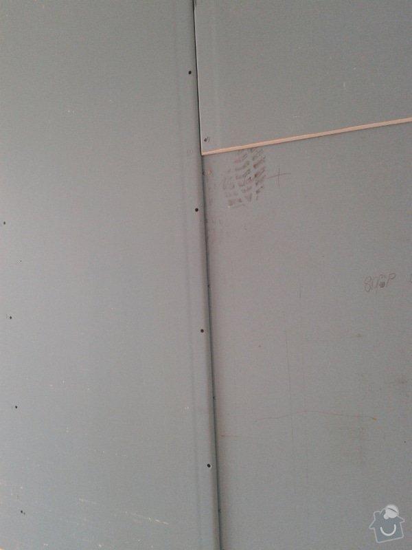 Odhlučnění stěny v zrekonstruovaném domě: Odhlucneni_Brno_3