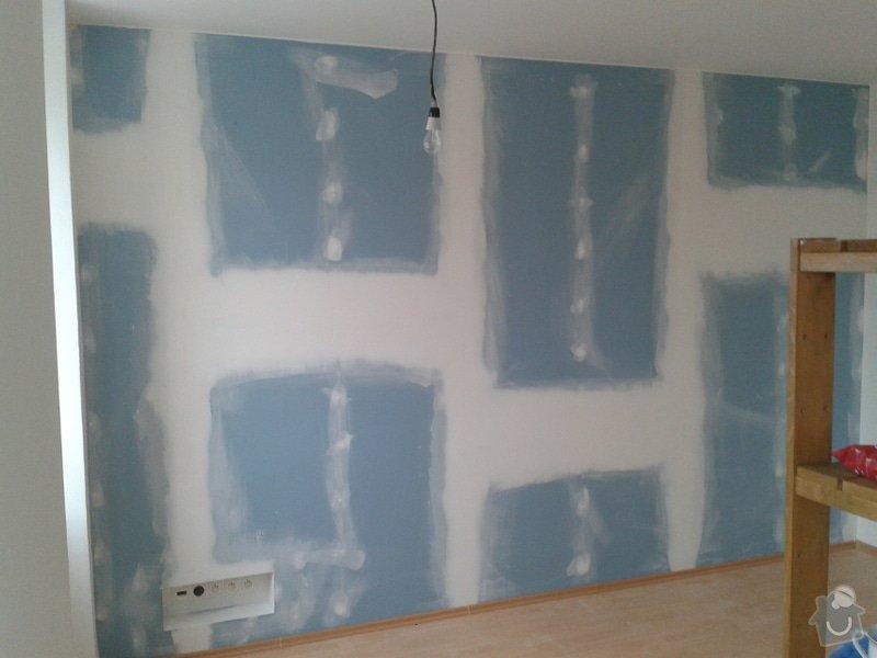 Odhlučnění stěny v zrekonstruovaném domě: Odhlucneni_Brno_4