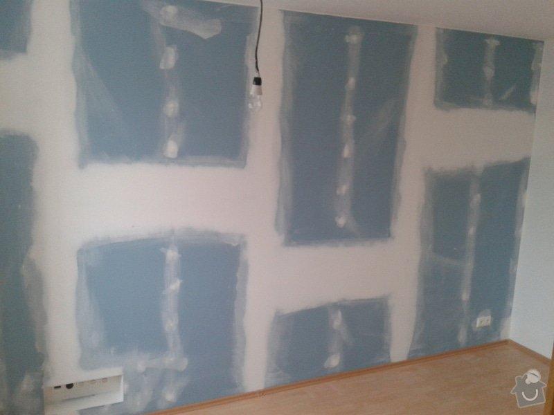 Odhlučnění stěny v zrekonstruovaném domě: Odhlucneni_Brno_5