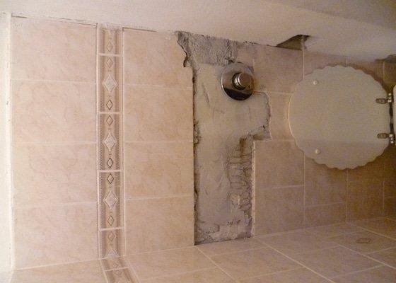Obklady koupelna+záchod, cca 3-4 m2