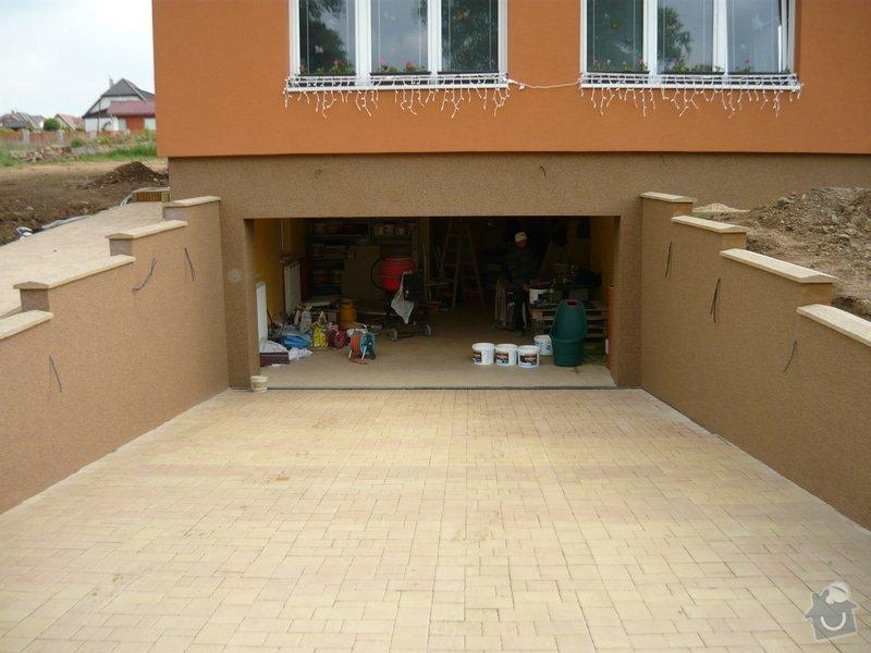 Zednicki a zahradni prace okolo RD: P1010513