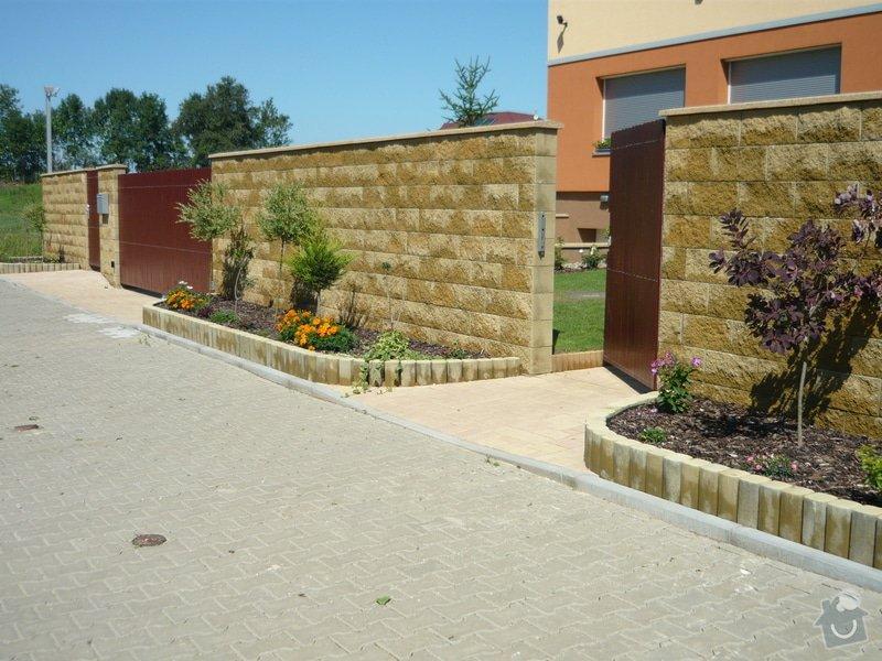 Zednicki a zahradni prace okolo RD: P1010681