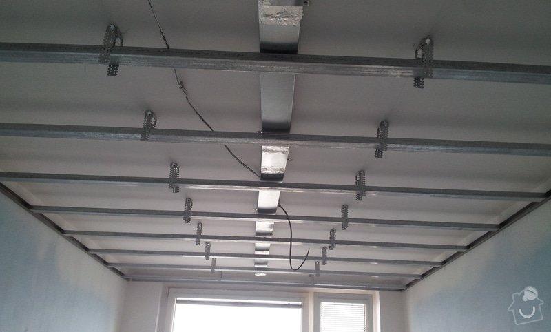 Podhledy s izolací a odhlučněné stěny: 20130218_140645