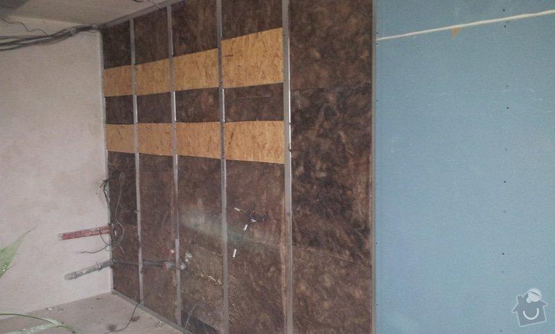 Podhledy s izolací a odhlučněné stěny: 20130219_152138