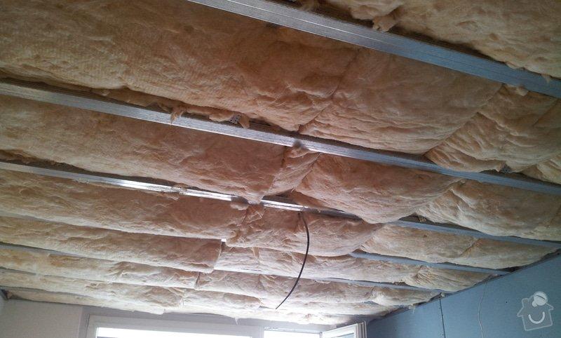 Podhledy s izolací a odhlučněné stěny: 20130219_111923