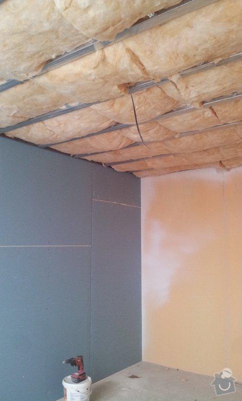 Podhledy s izolací a odhlučněné stěny: 20130219_111936