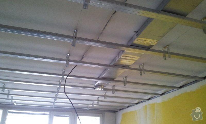 Podhledy s izolací a odhlučněné stěny: 20130219_153938