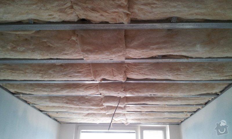 Podhledy s izolací a odhlučněné stěny: 20130219_153928
