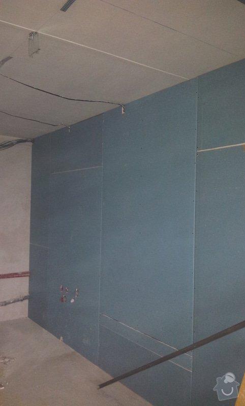 Podhledy s izolací a odhlučněné stěny: 20130219_163755