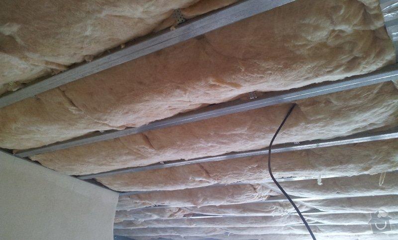 Podhledy s izolací a odhlučněné stěny: 20130220_104139
