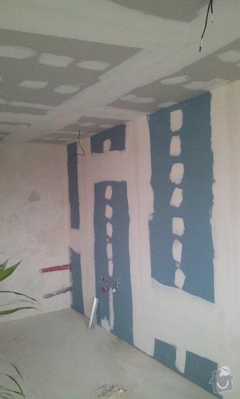Podhledy s izolací a odhlučněné stěny: 20130221_151747