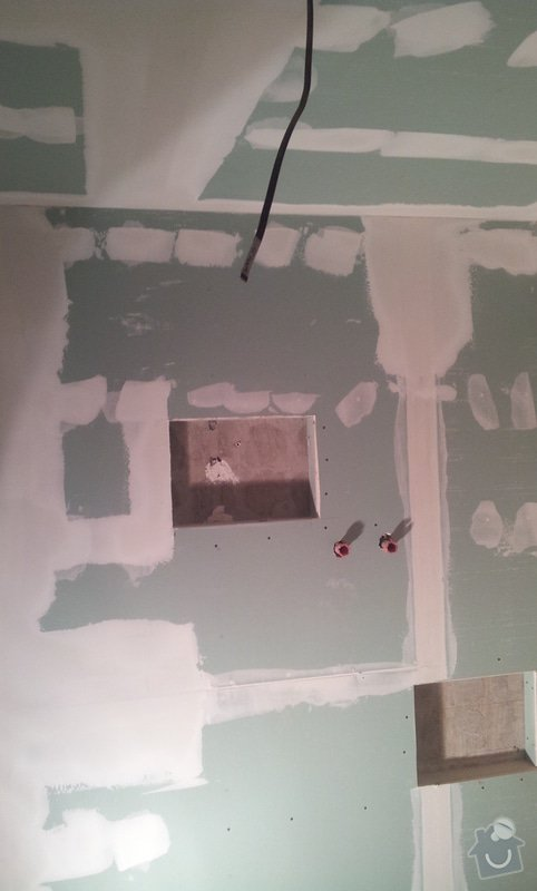 Podhledy s izolací a odhlučněné stěny: 20130222_152359