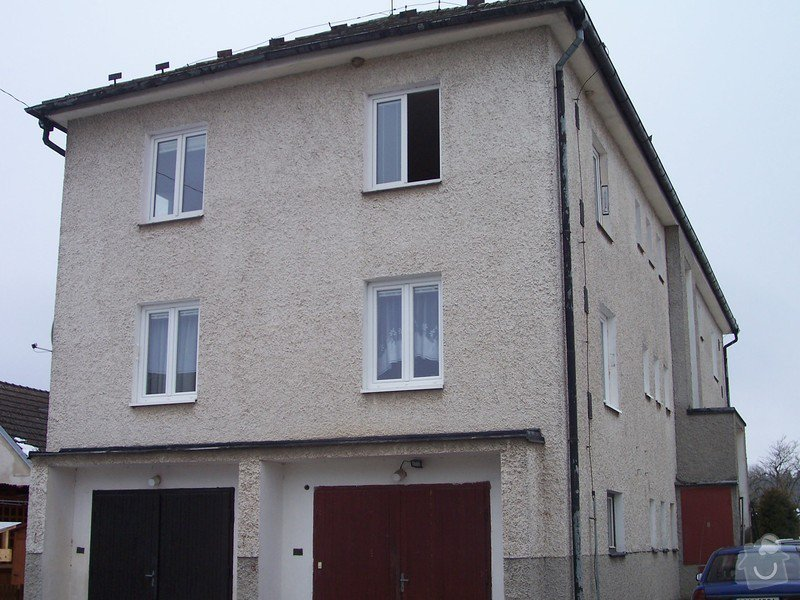 Zateplení bytového domu: 100_4008