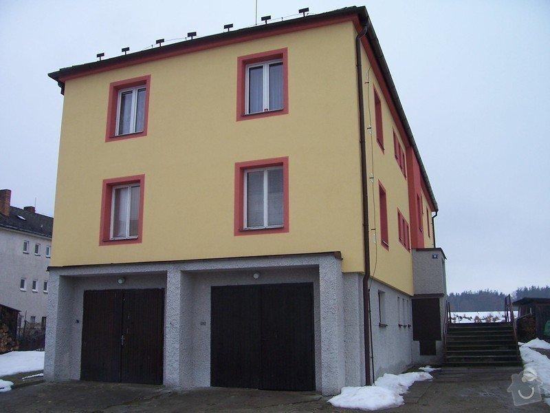 Zateplení bytového domu: 100_4010
