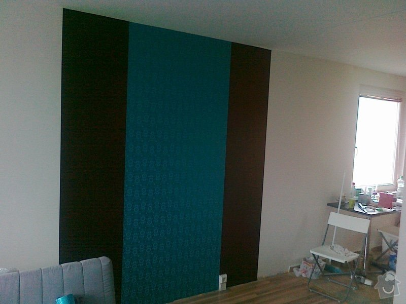 Malování panelákového bytu 3+kk: prace_unor_005