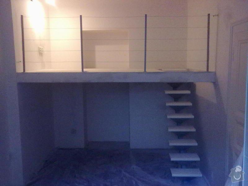 Patro na spaní, schody,osvětlení,zábradlí,podlaha.: a_182