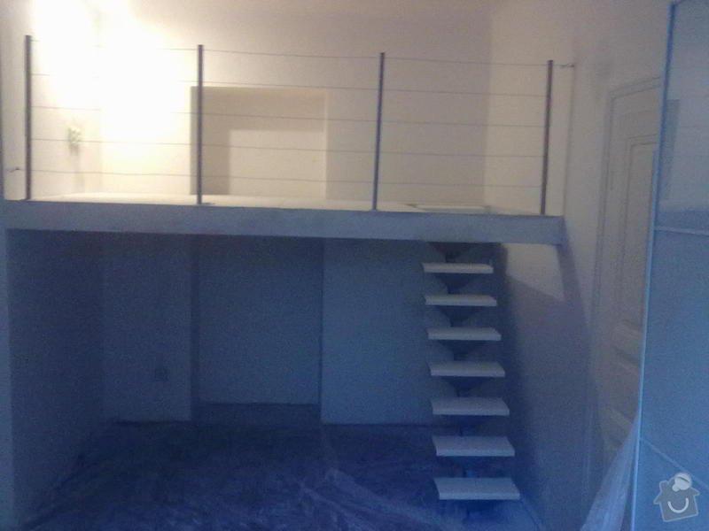 Patro na spaní, schody,osvětlení,zábradlí,podlaha.: a_186