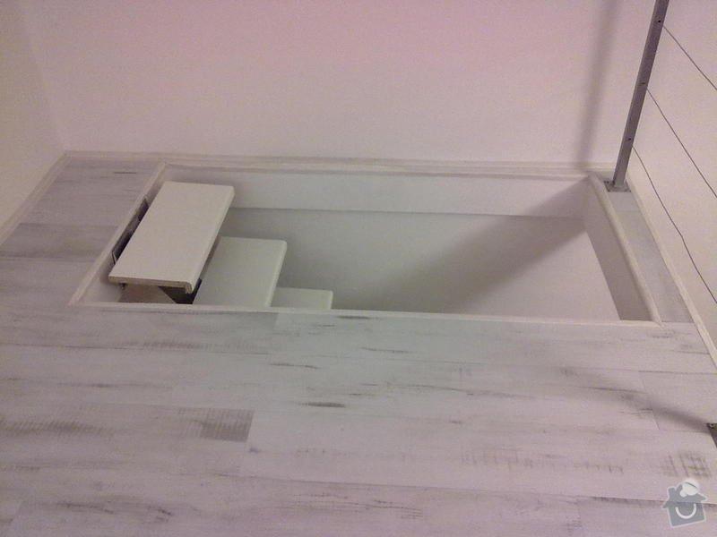 Patro na spaní, schody,osvětlení,zábradlí,podlaha.: a_190