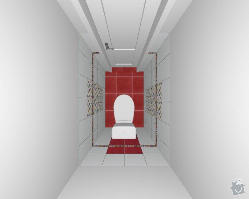 Rekonstrukce koupelnového jádra: xxxxxx