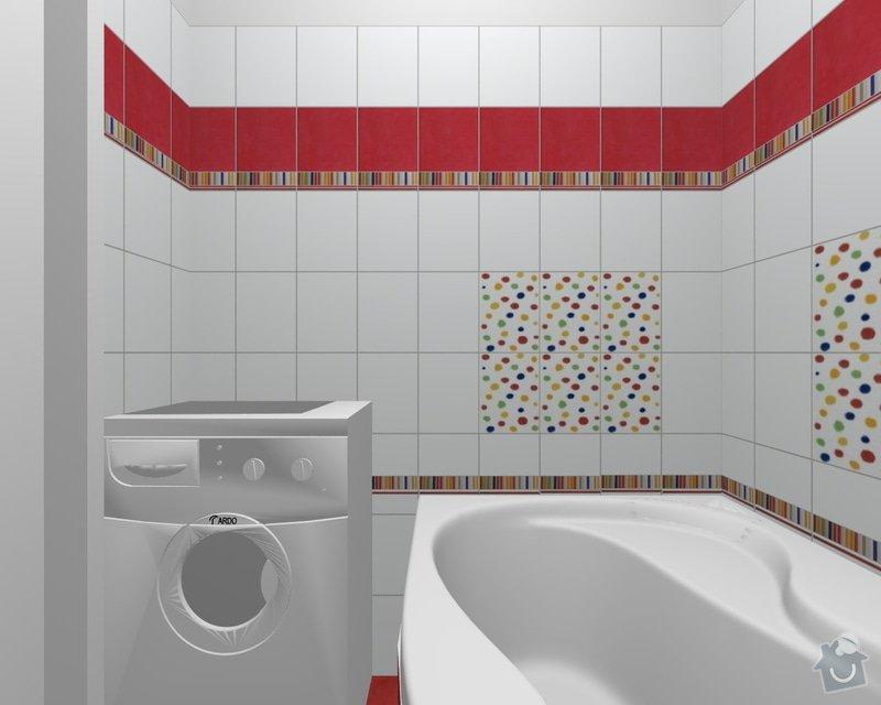 Rekonstrukce koupelnového jádra: xxxx