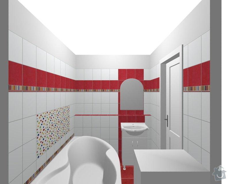 Rekonstrukce koupelnového jádra: xxx