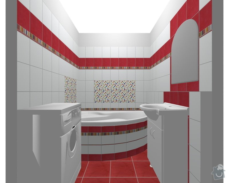 Rekonstrukce koupelnového jádra: xx
