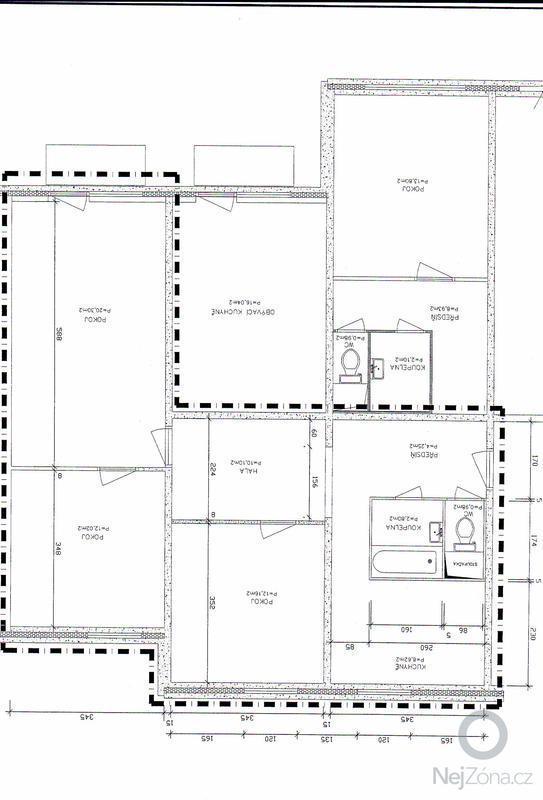 Rekonstrukce koupelnového jádra: Planek_bytu