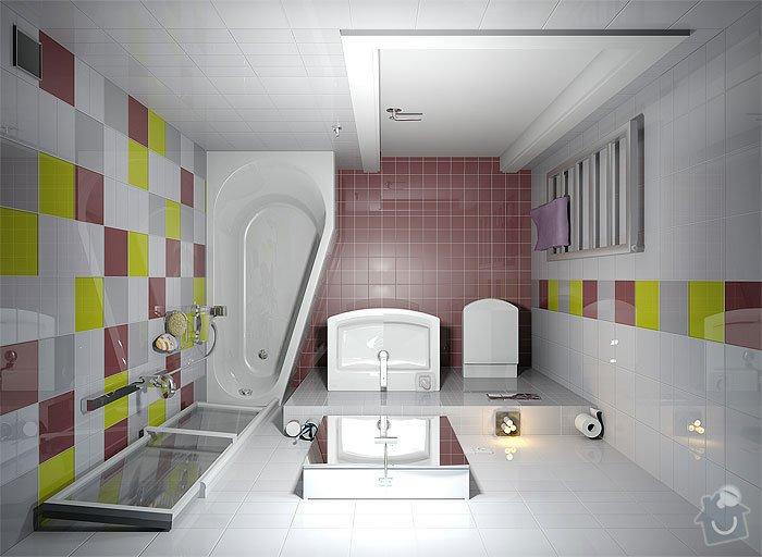 Vodovodní rozvody v koupelně: navrh_koupelny_-_usporadani