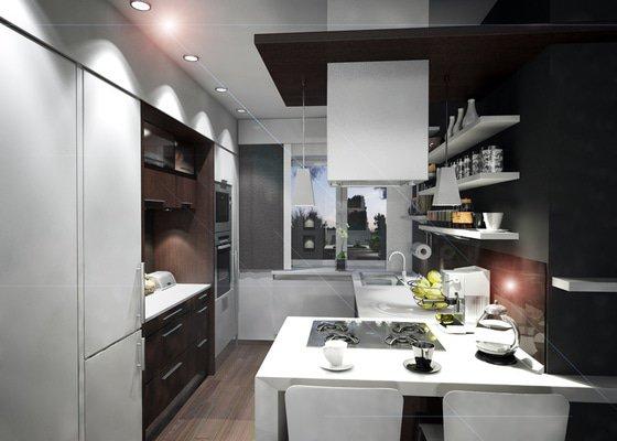 Návrh rekonstrukce interiéru bytu