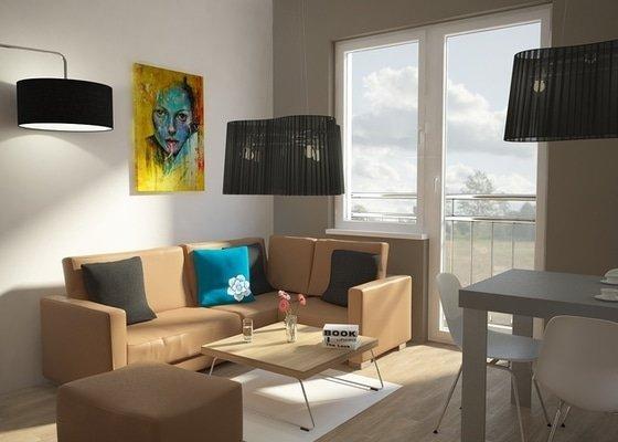 Návrh úprav interieru bytu, Brno Židenice