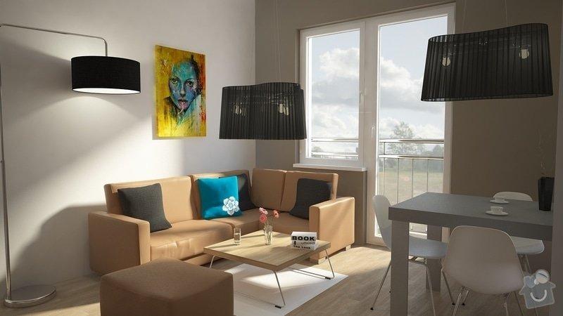 Návrh úprav interieru bytu, Brno Židenice: 1050_001