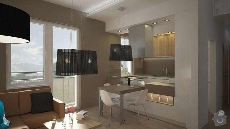 Návrh úprav interieru bytu, Brno Židenice: 1050_003